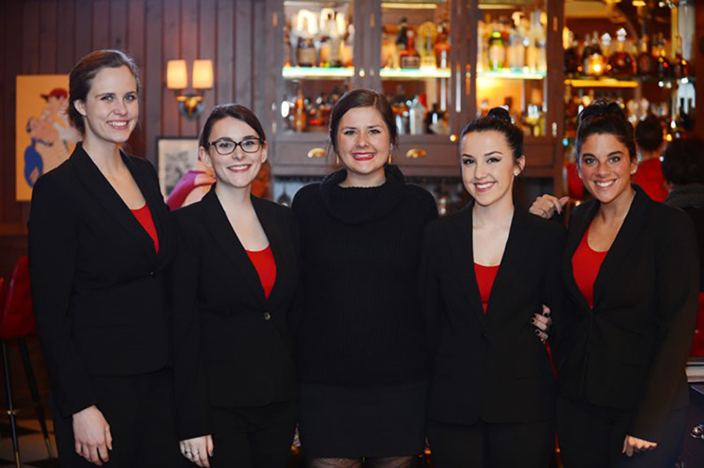 Friendly hostesses