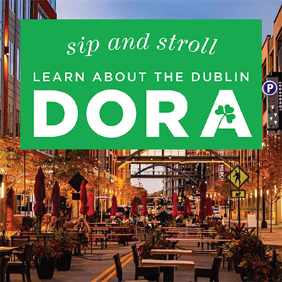 Sip and Stroll - learn more about the Dublin DORA