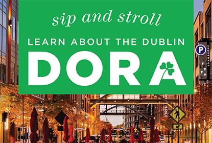 Sip and Stroll - learn about the Dublin DORA